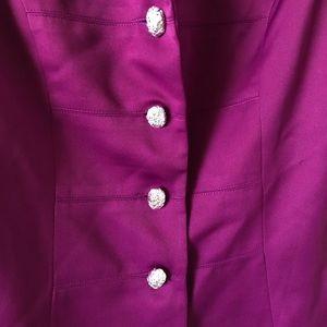 Saks Fifth Avenue Jackets & Coats - Saks Fifth Avenue Folio Purple Blazer